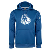 Under Armour Royal Performance Sweats Team Hoodie-Warrior Helmet