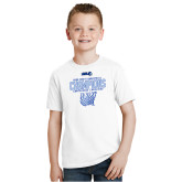 Youth White T Shirt-2020Mens Basketball