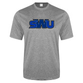 Performance Grey Heather Contender Tee-SWU