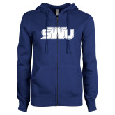 ENZA Ladies Royal Fleece Full Zip Hoodie-SWU