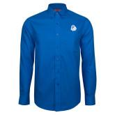 Red House French Blue Long Sleeve Shirt-Warrior Helmet