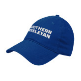 Royal Twill Unstructured Low Profile Hat-Southern Wesleyan