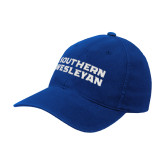 Royal Flexfit Structured Low Profile Hat-Southern Wesleyan