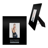 Black Metal 5 x 7 Photo Frame-University Wordmark  Engraved
