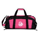 Tropical Pink Gym Bag-Warrior Helmet