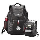 High Sierra Big Wig Black Compu Backpack-Warrior Helmet