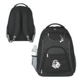 The Ultimate Black Computer Backpack-Warrior Helmet