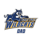 Dad Decal-Wildcat Dad, 6 inches wide