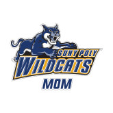 Mom Decal-Wildcat Mom, 6 inches wide