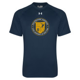 Under Armour Navy Tech Tee-University Seal