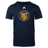 Adidas Navy Logo T Shirt-University Seal