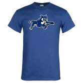 Royal T Shirt-Wildcat Logo