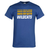 Royal T Shirt-Wildcats Graphic