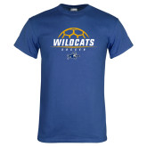 Royal T Shirt-Wildcats Soccer
