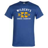 Royal T Shirt-Wildcats Cross Country