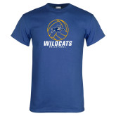 Royal T Shirt-Wildcats Volleyball