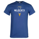 Royal T Shirt-Wildcats Lacrosse