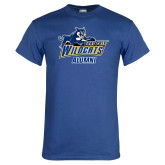 Royal T Shirt-Wildcat Alumni