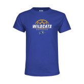 Youth Royal T Shirt-Wildcats Soccer