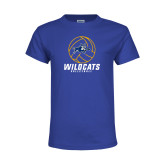 Youth Royal T Shirt-Wildcats Volleyball