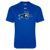 Under Armour Royal Tech Tee-Wildcat Logo