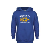 Youth Royal Fleece Hoodie-Wildcats Cross Country