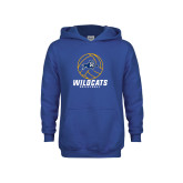 Youth Royal Fleece Hoodie-Wildcats Volleyball