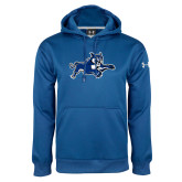 Under Armour Royal Performance Sweats Team Hoodie-Wildcat Logo