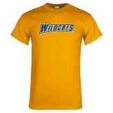 Gold T Shirt-Wildcats
