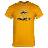 Gold T Shirt-Wildcats Volleyball