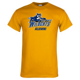 Gold T Shirt-Wildcat Alumni