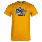 Gold T Shirt-Wildcat Grandpa