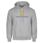 Grey Fleece Hoodie-SyPy Poly Vertical Stacked