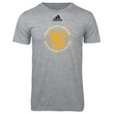 Adidas Sport Grey Logo T Shirt-University Seal