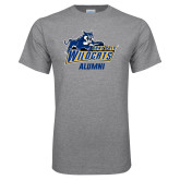 Grey T Shirt-Wildcat Alumni