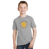 Youth Grey T Shirt-University Seal