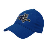 Royal Twill Unstructured Low Profile Hat-Wildcat Logo