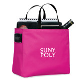 Tropical Pink Essential Tote-SYPy Poly Stacked