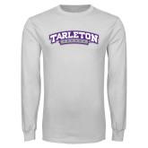 White Long Sleeve T Shirt-Tarleton Texas