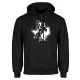 Black Fleece Hoodie-Texas Spirit Mark