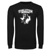Black Long Sleeve T Shirt-Full Spirit Mark