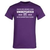 Purple T Shirt-2019 Football Champions