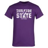 Purple T Shirt-Block Letters