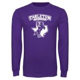 Purple Long Sleeve T Shirt-Full Spirit Mark