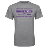 Grey T Shirt-2019 Football Champions