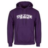 Purple Fleece Hoodie-Tarleton Texas