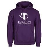 Purple Fleece Hoodie-Tarleton State University