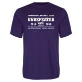 Performance Purple Tee-2019 Football Champions