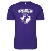 Next Level SoftStyle Purple T Shirt-Full Spirit Mark