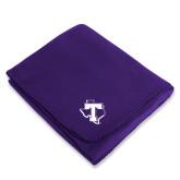 Purple Arctic Fleece Blanket-Primary